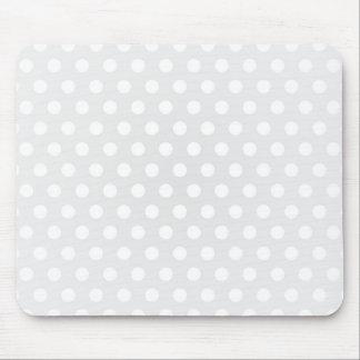 Lunar del blanco de Mousepad Tapete De Ratón