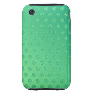 lunar del verde del caso del iPhone 3G/3GS Tough iPhone 3 Carcasa