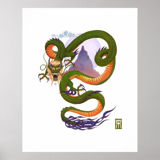 Lunar Dragon print