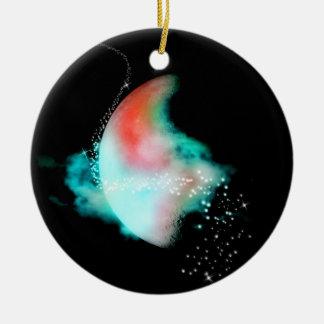 Lunar Dreams in Color Ornament