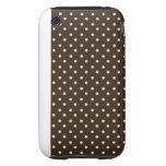 lunar duro del blanco de la caja de la casamata tough iPhone 3 protector