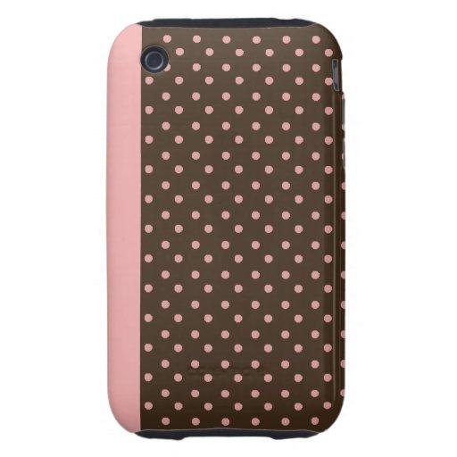 lunar duro del rosa de la caja de la casamata del iPhone 3 tough cárcasa