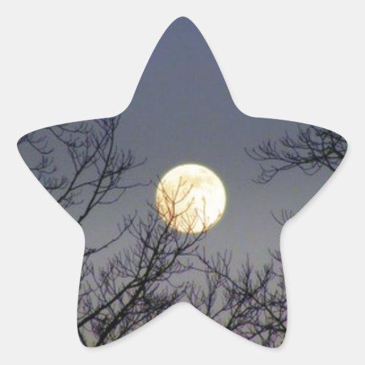 Lunar Eclipse 2008 Star Sticker