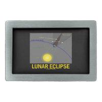 Lunar Eclipse (Astronomy Attitude) Belt Buckle