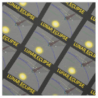 Lunar Eclipse (Astronomy Attitude) Fabric