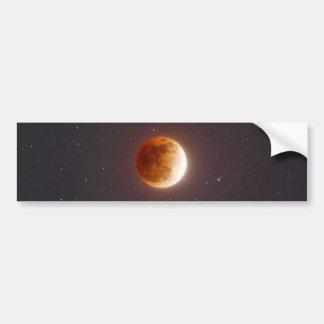 Lunar Eclipse Blood Moon Bumper Sticker