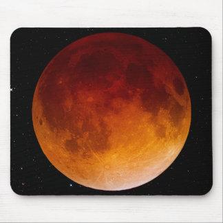 Lunar Eclipse Close Up Mouse Pad
