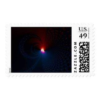 Lunar Eclipse - Fractal Postage