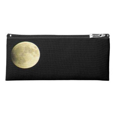 Beach Themed Lunar Eclipse Pencil Case