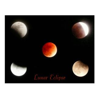 Lunar Eclipse Postcard