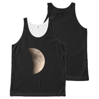 Lunar Eclipse with Craters All-Over-Print Tank Top