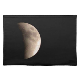 Lunar Eclipse with Craters Placemat