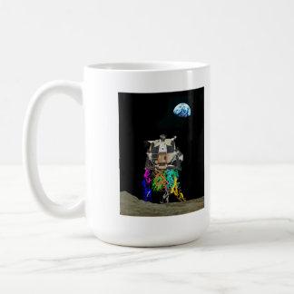 Lunar Excursion Molecule Coffee Mug