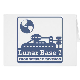 Lunar Food Service Division Card
