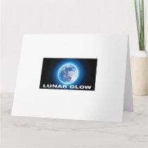 Lunar glow card