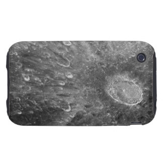 Lunar Impact Crater Tycho on Earth's Moon iPhone 3 Tough Case