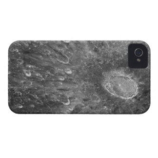 Lunar Impact Crater Tycho on Earth's Moon iPhone 4 Case-Mate Cases