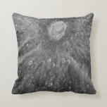 Lunar Impact Crater Tycho on Earth's Moon Throw Pillow