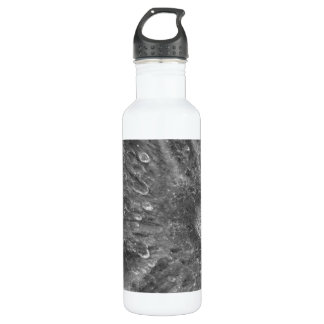 Lunar Impact Crater Tycho on Earth's Moon Stainless Steel Water Bottle