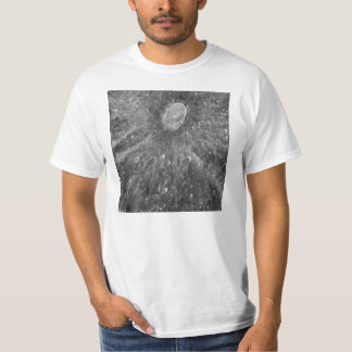 Lunar Impact Crater Tycho on Earth's Moon Tshirts