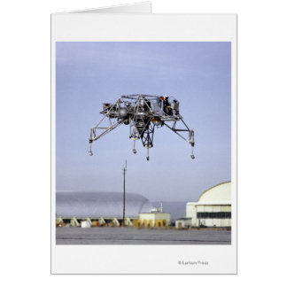 Lunar Landing Research Vehicle in Flight Card