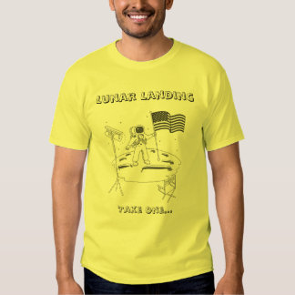 Lunar Landing - Take One Tee Shirt