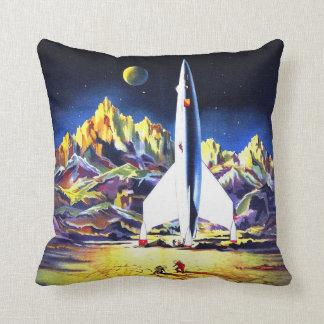 Lunar Landing Throw Pillow