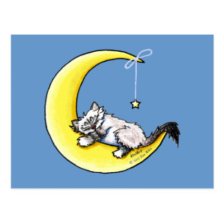 Lunar Love Ragdoll Kitty Post Cards