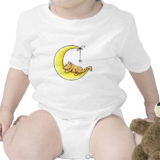 Lunar Love Tabby Cat Baby Bodysuit