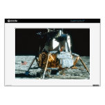 "Lunar Module on the Moon Decals For 15"" Laptops"