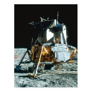Lunar Module on the Moon Postcard
