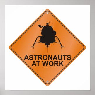 Lunar Module / Work Poster