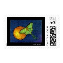 Lunar Moth Postage