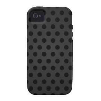 lunar negro del caso del iPhone 4 iPhone 4/4S Carcasas