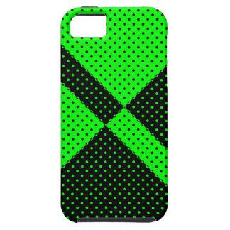 lunar negro y verde del caso del iPhone 5 iPhone 5 Fundas