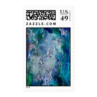 'Lunar neuronal essence' Postage Stamps