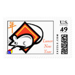 Lunar New Year Postage Stamp