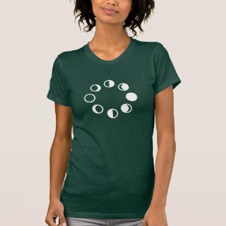 Lunar Phases Pictogram T-Shirt