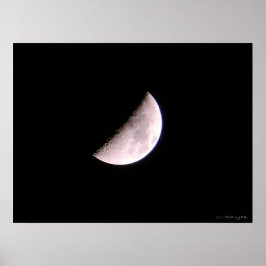Lunar Portrait Poster