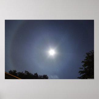 Lunar Rainbow Poster