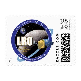 Lunar Reconnaissance Orbiter Stamps