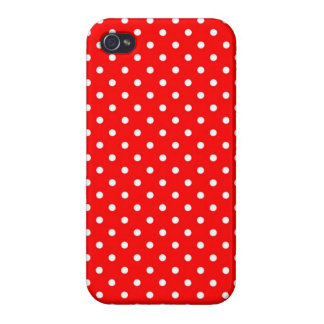 lunar rojo caliente listo del caso del iPhone 4 iPhone 4 Carcasa