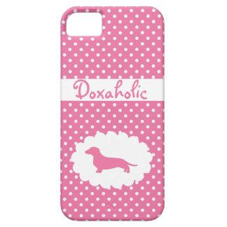 Lunar rosado Doxaholic iPhone 5 Protector