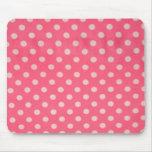 Lunar rosado Mousepad Tapetes De Raton