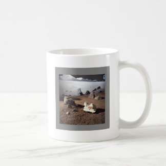 LUNAR SCAPE - MARS NASA MISSION CLASSIC WHITE COFFEE MUG