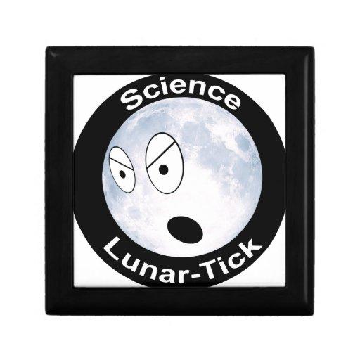 Lunar-Señal Joyero Cuadrado Pequeño