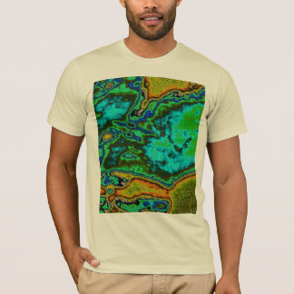 Lunar Surface Map T-Shirt