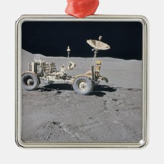 Lunar Vehicle Metal Ornament