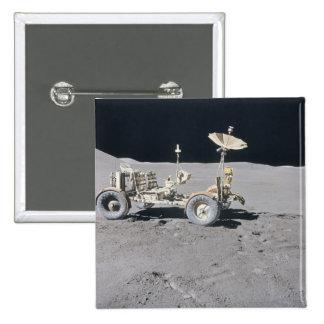 Lunar Vehicle Pinback Button
