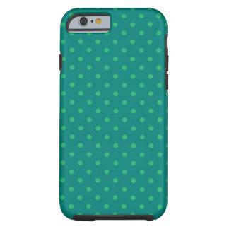 lunar verde caliente de Shell del caso del iPhone Funda De iPhone 6 Tough
